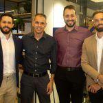 Strauss Nasar, Guilherme Pequeno, Lucas Castro E Eduardo Hamdan