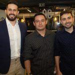 Strauss Nasar, Marcos Sombra E Rodrigo Quesado