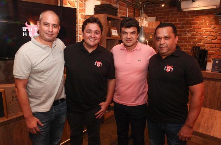 Andre Linheiro, Marcelo Pimentel, Marcelo Braga E Carlão Texeira (2)