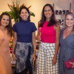 Kel Oliveira, Cibele Parreiras, Luciana Brasileiro E Anelise Franco
