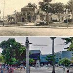 Praça Da Sé Nos Anos 30 E Atualmente.