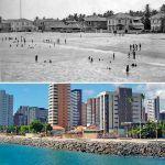 Praia De Iracema RUA DOS CARIRIS Nos Anos 30 E Atualmente