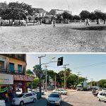 Rua Conde D'Eu Com Vista Para A Praça Da Sé. A Foto Antiga é Por Volta De 1910