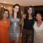Aldira Melo, Mariana Holanda, Juliana Melo E Dudu Borges