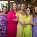Ana Zélia Gadelha, Andréa Delfino, Michelle Aragão, Adriana Queiroz E Karmilse Marinho (1)