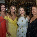 Christiane Faria, Michelle Aragão, Suyane Dias Branco E Claudia Gradvohl