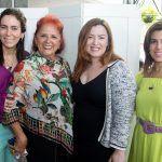 Gisele Studart, Fátima Duarte, Aline Barroso E Miriam Bastos