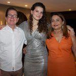 João Borges, Mariana Holanda E Aldira Melo