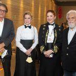 Arialdo Pinho, Anya Ribeiro, Enid Câmara E Joaquim Cartaxo