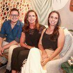 Arthur Linhares, Ana Paula Saboia E Ana Aline Moura