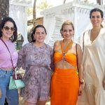 Carla Brasil, Clarisse Linheres, Jeritza Gurgel E Clarisse Jereissati