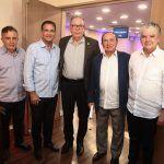 Claudio Targino, Beto Studart, Ricardo Cavalcante, Marcos Montenegro E Chico Steves (3)
