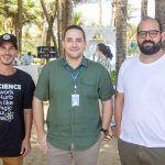 Felipe Xavier, Rafael Santos E Raony Herreiro