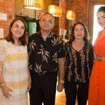 Liana Cabral, Cesar Costa, Marta Costa E Carolina Cabral (2)