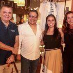 Omar De Albuquerque, Carlos Zaranza, Aline Moura E Ana Paula Saboia