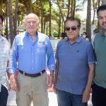 Paulo Menezes, Guillermo Alcorta, Ivon Levy E Felipe Lima