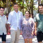Paulo Menezes, Murilo Pascoal, Clarisse Linhares E Felipe Lima