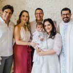 Rafael, Ticiana Boris, Leopoldo, Stela Cabral, Mariana Cabral E Padre Leandro Dutra (3)