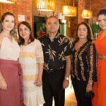 Ticiana Boris, Liana Cabral, Cesar Costa, Marta Costa E Carolina Cabral (2)